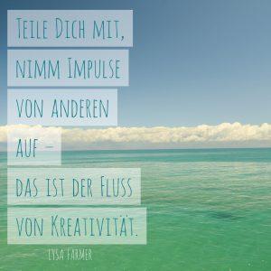 Kreativität, mitteilen, Impulse, Fluss