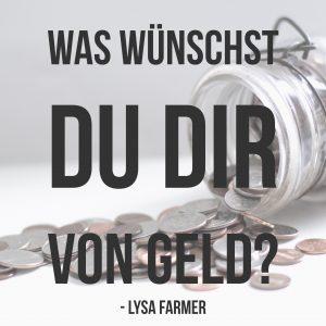 Geld, Wünsche, Münzen