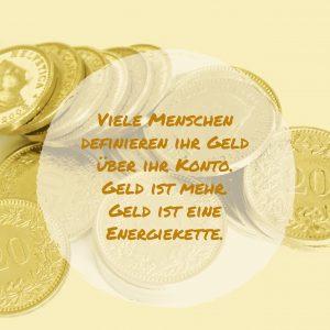 Geld, Konto, Energie